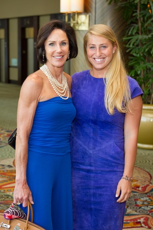10 Heidi Gerger, left, and Ria Gerger at the Holocaust Museum Moral Courage Award dinner June 2014