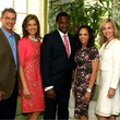 Kenny and Lisa Troutt, Coach Avery and Cassandra Johnson, Tavia and Clark Hunt, just say yes luncheon
