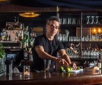 Houston, LA bartender Michael Neff, November 2015