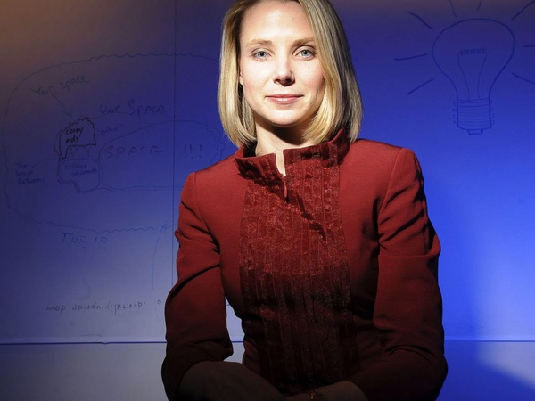 Marissa Mayer, Yahoo, CEO