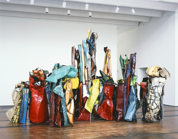 Menil Collection: John Chamberlain, American Tableau
