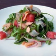Paul's Kitchen food items September 2014 smoked salmon salad