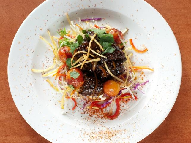 Vietnamese Shaken Beef, Steel Restaurant & Lounge