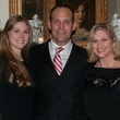 Alicia Ingram with Drew and Natalie Dossett, january deb parties