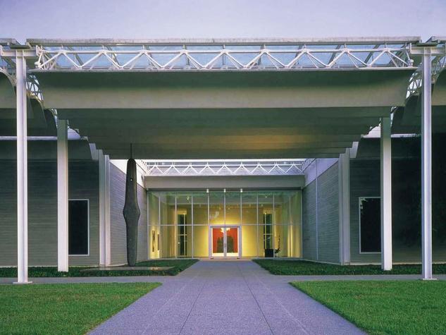 The Menil, exterior, entrance