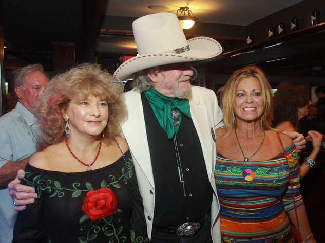 170 Sally Hauck, from left, Parker Detweiler and Rose Jones at Deacons of Deadwood