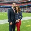 3 Brad and Joanna Marks at the Texans vs. Eagles sideline party November 2014
