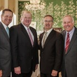 7 David Wuthich, from left, Paul Somerville, Tony Gracely and Ed McMahon at the Men of Distinction luncheon May 2014