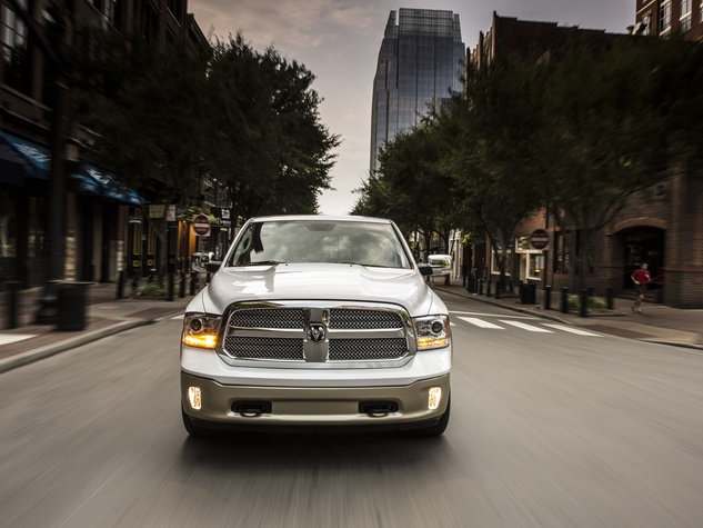 Dodge RAM truck city