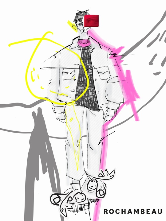 Rochambeau spring 2018 designer inspiration