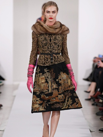 25, Fashion Week fall 2013, February 2013, Oscar de la Renta