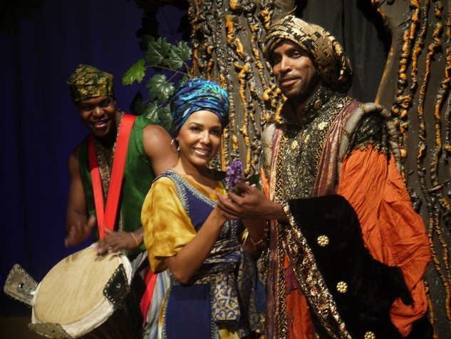 Shaka Sulaiman, Christina Alfred, Timothy Eric Djembe and the Forest of Christmas Forgotten at Ensemble Theatre