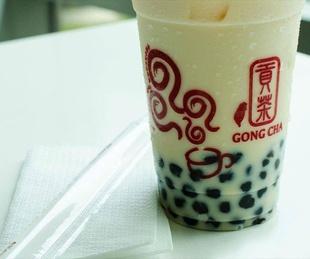 Gong Cha bubble tea