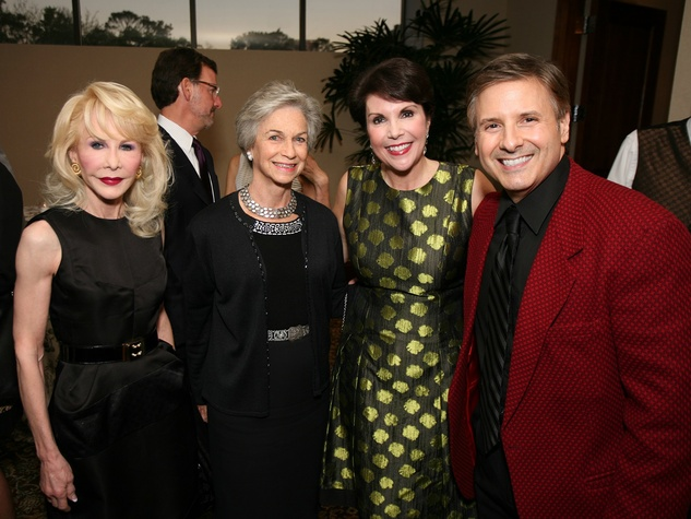Diane Lokey Farb, from left, NAME, Lisa Shumate and Ernie Manouse at Masterpiece Evening April 2014