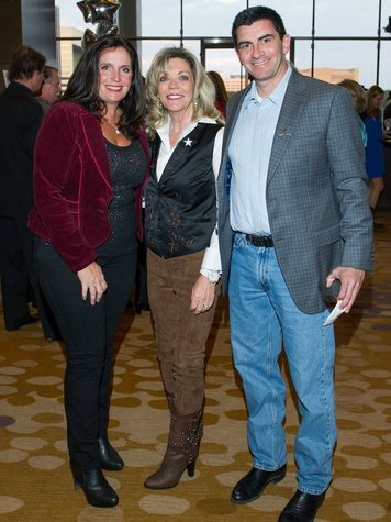 Cecy, Cindy and Jon Feld