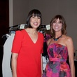 Trina Turk, left, and Missy Balleza at the Spring Branch Education Foundation luncheon November 2014