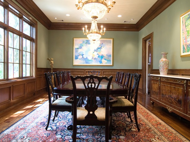 On the Market 2216 Chilton Road January 2015 BEFORE dining room