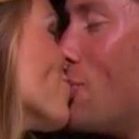 Bachelor Pad, Lindzi Cox, Kalon McMahon, limo, kissing