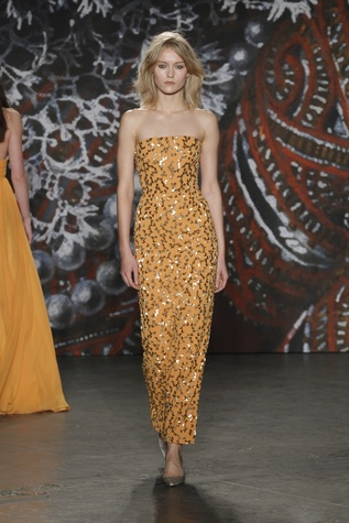 Jenny Packham look 12 fall 2015 collection