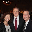 Lisa Lyon, from left, Charles Hurwitz and David Lyon at the Houston Living Legend fundraiser dinner May 2014
