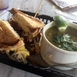 Local Foods Houston March 2014 sandwich and soup