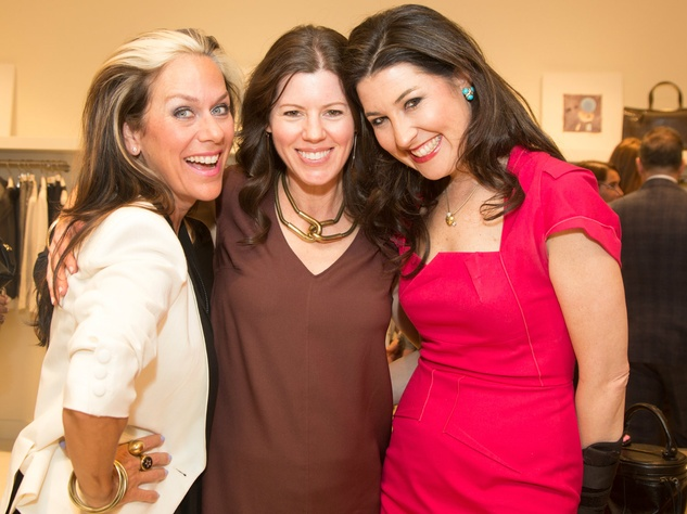 Social Lucy Wrubel, Brooke Hortenstine, Capera Ryan, brunello cucinelli opening