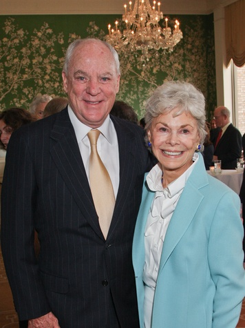 Men of Distinction luncheon Houston May 2013 Bob McNair and Janice McNair