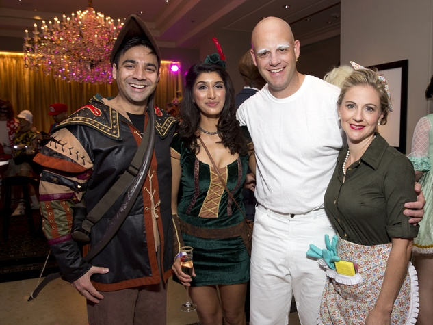 Houston, Easter Seals The Bash, Oct. 2016, Anay Patel, Manisha Chandar, Aimie Elliott, Jason Elliott