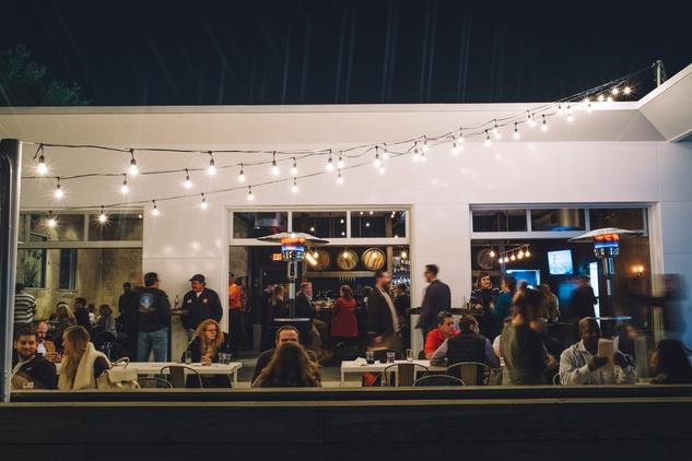 Houston, 8 Row Flint, April 2016, patio
