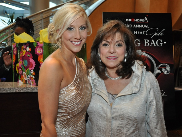 Matt Schaub's foundation dinner April 2013 Laurie Ward, Laura Ward