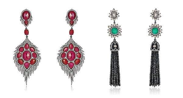 Sutra Earrings SJE1047B and SJE903B