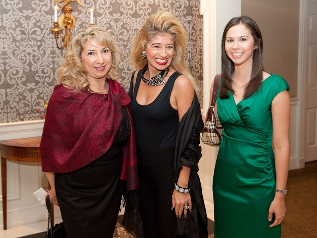 News_Harvest Party_November 2011_Myrna Gregory_Sofia Adrogue_Melissa Bazan