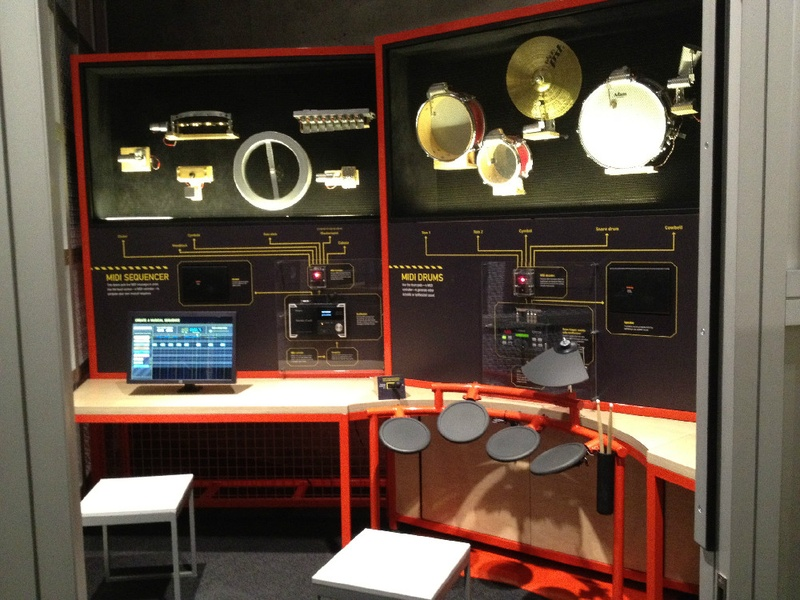 Perot Museum of Nature and Science, MIDI Sound Studio