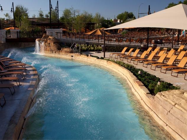 Pool at Gaylord Texan resort