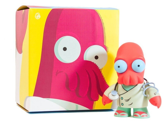Kidrobot vinyl figure of Dr. Zoidberg from Futurama