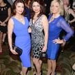 14 1906 Parissa Mohajer, from left, Mahzad Mohajer and Melanie Campbell at the Jonathan Blake fashion party April 2014