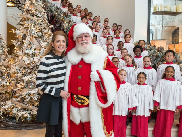 News, MD Anderson Santa's Elves, Dec. 2015, Paige Fertitta,