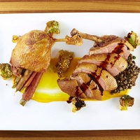 Front Room Tavern Dallas duck