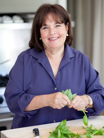a barefoot breakfast? ina garten starts the day right before
