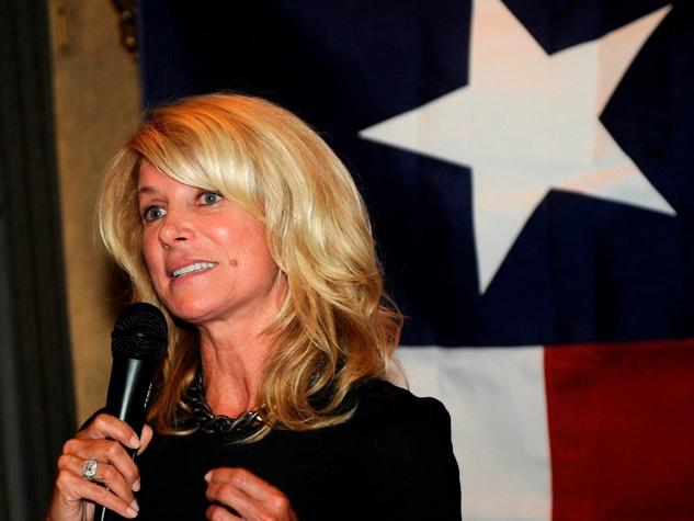 Wendy Davis Texas Flag