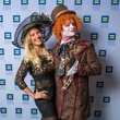 14 Tracy Faulkner and The Mad Hatter at Human Rights Campaign Alice's Adventures in Equality event February 2015