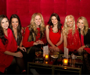 Ashley Shelton, Madison Broyles, Meredith Counce, Chelsey Lovell, Holly Hilburn, Chelsey Gilbreth, echelon, red hot christmas