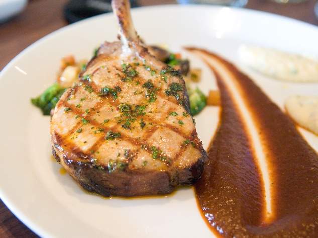 5 Philippe new menu tasting October 2013 pork chop