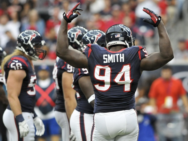 Antonio Smith Texans Titans