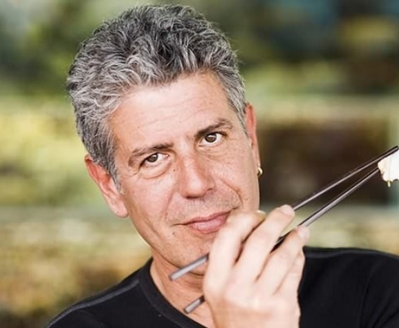 Austin Photo Set: News_Arden_Anthony Bourdain_march 2012_chopsticks