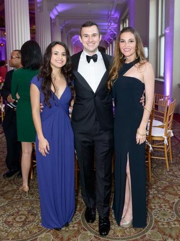 SPA gala, April 2016, Estefania Llanos, Charles Fisher, Bethany Heep