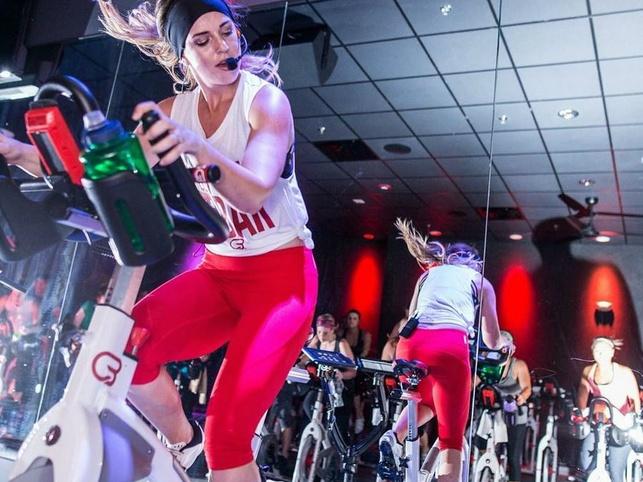CycleBar cycling class fitness