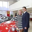 Jessica and Dr. Jose Simon at the Joints in Action at Ferrari of Houston June 2014
