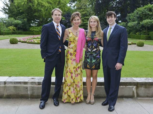 10 Luxembourg Palace dinner June 2013 George Cary, Catherine Cary, Grace Catherine Cary, Rives Cary