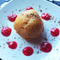 Texas State Veggie Fair fried cheesecake